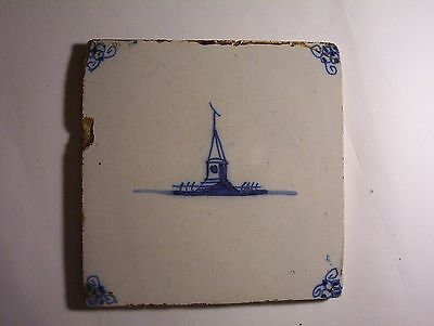 Delft Tile c. 18th / 19th  century   (l)
