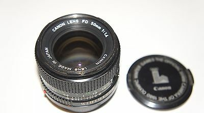 Objectif photo canon lens FD 50 mm 1:1.4
