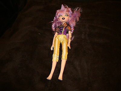 Monster High Doll Complete With Outfit
