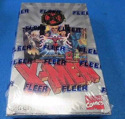 Fleer Ultra X-Men trading cards Factory Sealed Box dated 1994