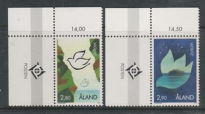 ALAND - 1995. Europa - Peace & Freedom - Set of 2, MNH