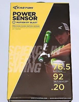 Easton Power Sensor Baseball Softball Swing Analyzer Blast Motion NEW IN BOX