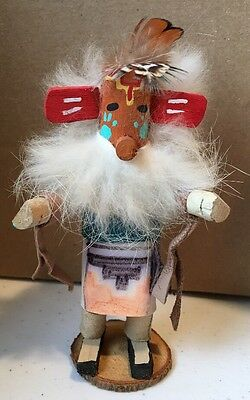 "Kachina Signed ""dj"" 5"" Tall"