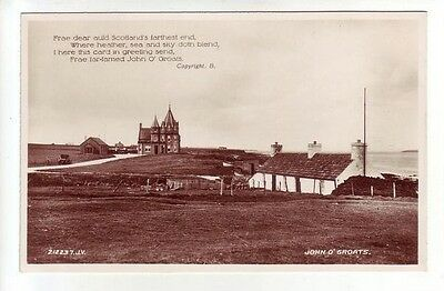 John O' Groats 1931 Real Photograph Valentines 212237 Card Published 1936 Old PC