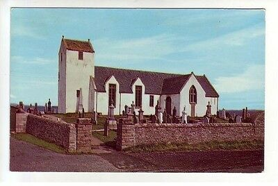 Old Canisbay Kirk John O' Groats Caithness Photo Precision Old Postcard Unposted