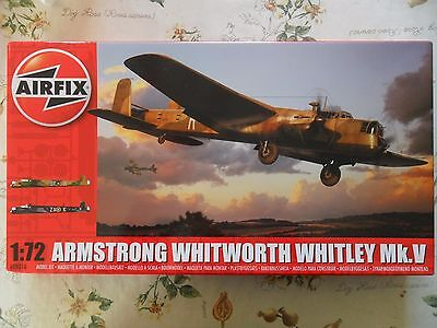 Airfix 1/72nd Armstrong Whitworth Whitley Mk.V model kit.