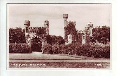 Thurso Castle Lodge Photo Taken 1935 Real Photograph Valentines A3178 Caithness