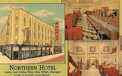 LINEN - Northern Hotel , coffee shop - FORT COLLINS CO