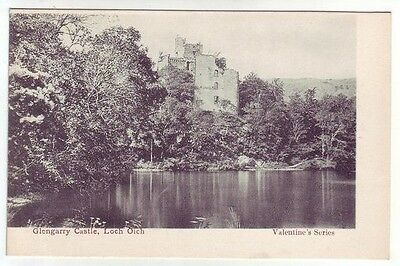 Glengarry Castle Loch Oich Inverness-shire Pre 1911 Valentines Old Postcard