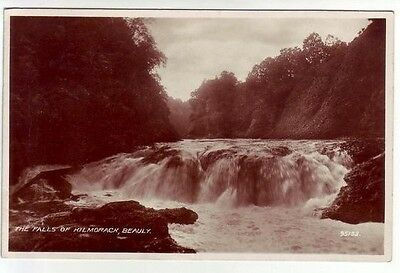 Falls Of Kilmorack Beauly Inverness Aug 1936 Real Photograph Uttley Banksfield