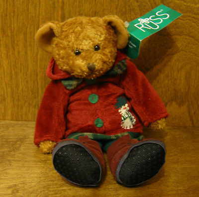 """Russ Berrie Plush #101436 GRETA, 9""""  NEW from our Retail Store Mint/tag,"""