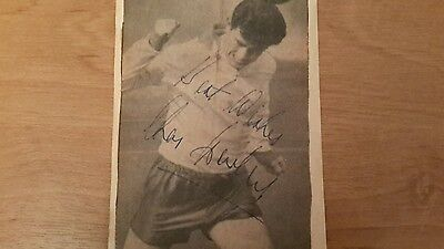 Autograph of Charlie Hurley - Sunderland and Ireland Footballer