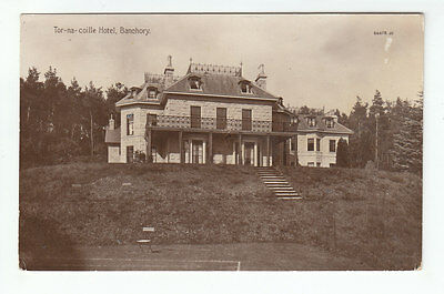 Tor Na Coille Hotel Banchory Kincardine 1910 Real Photograph Valentines 66678