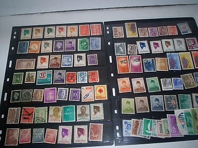 Great LOT of Indonesia Stamps Removed from Albums Oct02IND