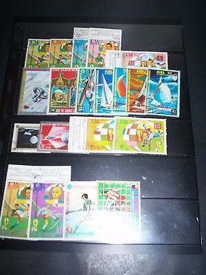 GUINEA Equatorial Great Lot of Topical Stamps GE30JUL