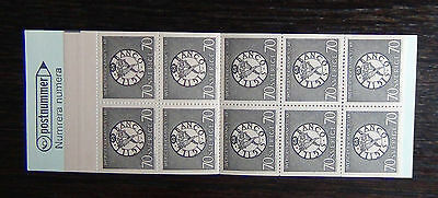 Sweden 1968 300th Anniversary of Bank of Sweden Booklet MNH