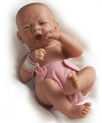"""JC Toys La Newborn Boutique - Realistic 14"""" Anatomically Correct Real Girl Baby"""
