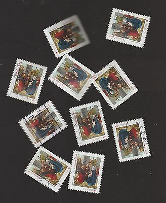 Canada 2015 Christmas  Nativity  10 Used Stamps