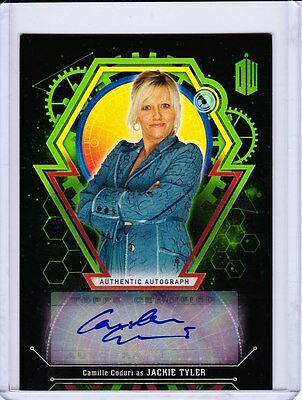 Doctor Who Extraterrestrial Encounters Autograph Camille Coduri As Jackie 12/50