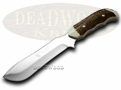 HEN & ROOSTER AND Deer Stag Full Tang Skinner Stainless Fixed Blade Knife Knives