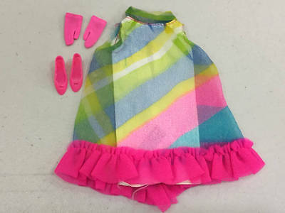 Vintage Barbie Francie 1207 Floating In Outfit Complete Lot 227