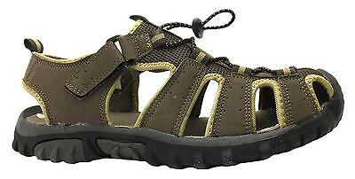 X-hiking Men's Brown Toggle Adjustable Fisherman Style Closed Toe Sandals New