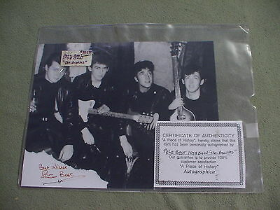 Pete Best signed promotional still, The Beatles