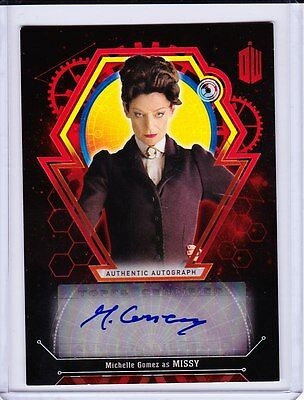 Doctor Who Extraterrestrial Encounters Autograph Michelle Gomez As Missy 5/5