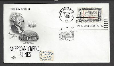 USA...FDC.. First Day of issue Cover... SC # 1141... Art Craft Cache