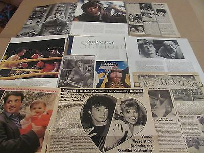 Sylvester Stallone Rocky    Star      Clippings   Wow   #1025