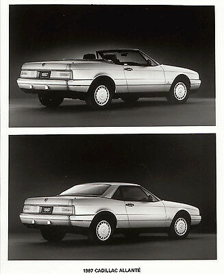 Cadillac Allante 1987 Model Period Photograph.