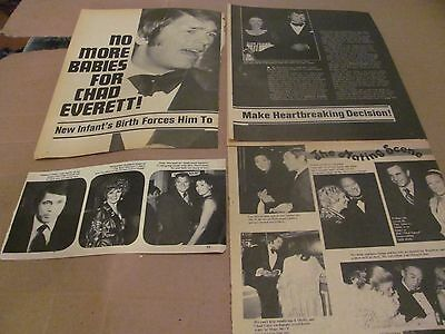 Chad Everett  Medical Center Star          Clippings   Wow   #1027