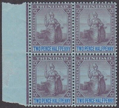 Kappysstamps Id7758 Trinidad 107  Mint Bk/4 Block Nh Never Hinged