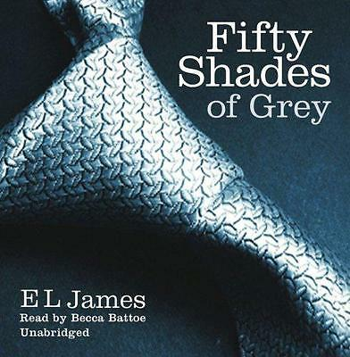 Fifty Shades of Grey, E L James | Audio CD Book | 9781846573781 | NEW