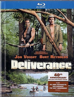 Deliverance (Blu-ray Disc, 2012,with 44 page book) Burt Reynolds, Jon Voight NEW
