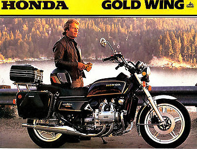 1979 Honda Gl1000 Gold Wing Motorcycle Brochure -Gl 1000-Goldwing