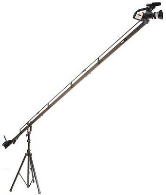 ProAm USA 8' DVC200 Camera Crane Jib, 4' Extension & Support Stand! 12' Total