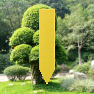100Pcs Garden Plant Pot Markers Plastic Stake Tags Nursery Seed Labels 10cm