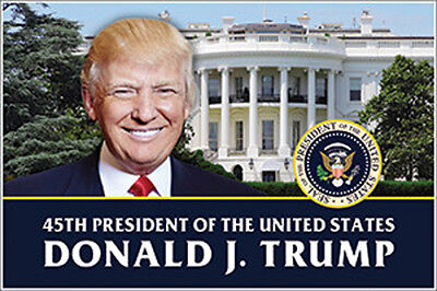 Just Released - 45th President Donald Trump White House Inauguration Poster