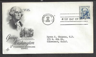 USA...FDC.. First Day of issue Cover... SC # 1283. Art Craft Cache
