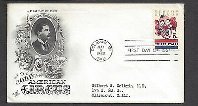 USA...FDC.. First Day of issue Cover... SC # 1309. Art Craft Cache ..