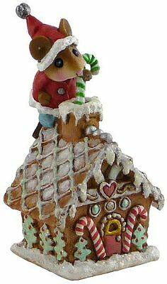 Wee Forest Folk TM-4 Wee Santa's Gingerbread House