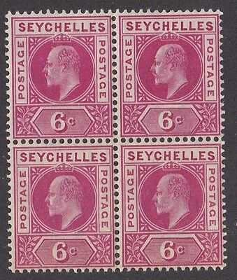 Kappysstamps Id7875 Seychelles 65 Mint Bk/4 Nh Never Hinged Block