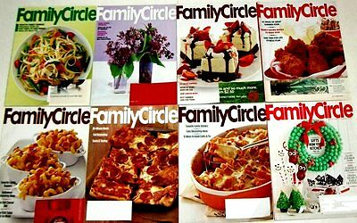 8 Family Circle Magazine (lot#1) 2010 issues