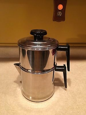 UNUSED T304 Lifetime Cookware 10 Cup Stainless Steel Drip Coffee Maker
