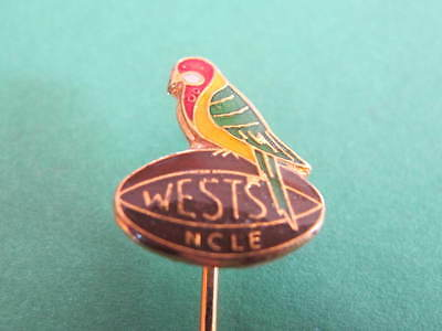 Wests NCLE Rugby Rosella Parrot Badge