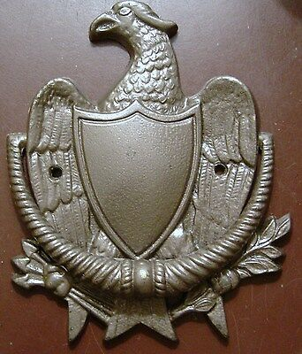 Vintage Cast  Brass Eagle Door Knocker