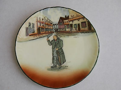 PAIR OF ROYAL DOULTON  DICKENS WARE PLATES - MR. SQUEERS & MR. MICAWBER -10.5cm