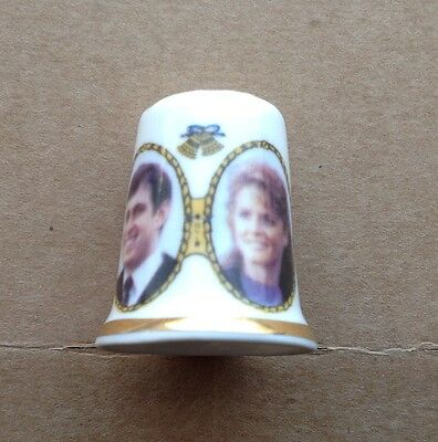 1986 Thimble For  Marriage Of Prince Andrew And Sarah Ferguson
