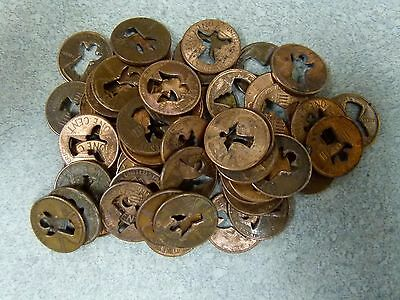 50 Cut Out Angel Pennies